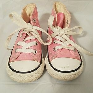 Girls Converse all star high top gymshoes